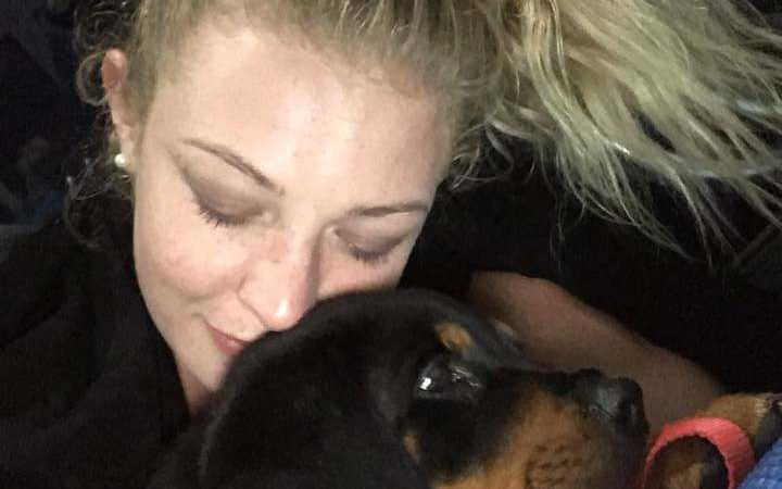 Grace Read was attacked by two men and her puppy, Rosko, stolen.