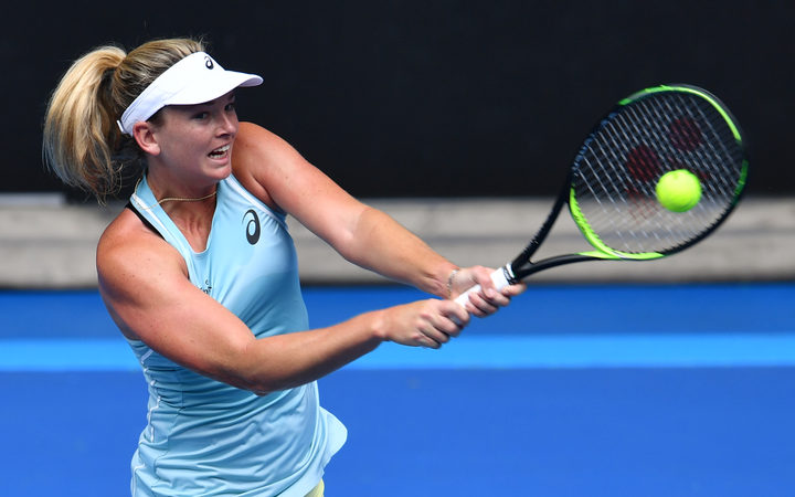 Coco Vandeweghe handed code violation for extended banana break at Australian Open