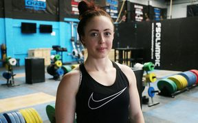 Pip Patterson is training for an hour-and-a-half a day in the lead-up to the Commonwealth Games