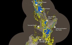 Rain is already falling over the North Island.