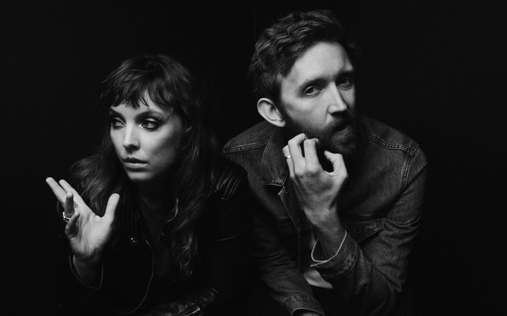 Amelia Meath and Nick Sanborn are Sylvan Esso.
