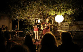 Parlour gigs in the backyard
