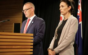 Health Minister David Clark and Prime Minister Jacinda Ardern announce an inquiry into mental health and addiction.
