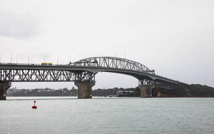 The Auckland Harbour Bridge