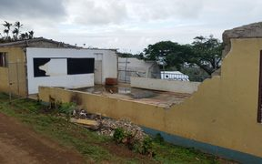 The Koro Island High School rebuild is expected in 2016. A teacher at the school says tents are leaky and hot and they need new ones.