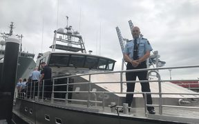 New Zealand Customs new vessel, Hawk V.