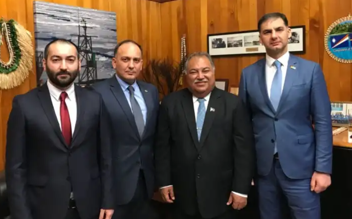 Abkhazia foreign minister received in Nauru