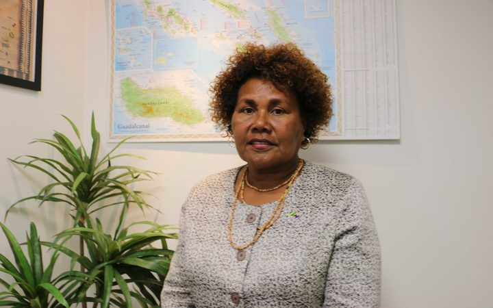 Solomon Islands' High Commissioner in New Zealand, Joy Kere.
