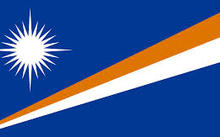 National flag of the Marshall Islands