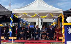 Leaders gathered for the Nauru 50th celebrations.