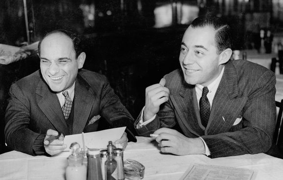 Richard Rodgerscirca 1938Shown from left: Richard Rodgers, Lorenz Hart