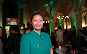 Marama Davidson of the Greens.