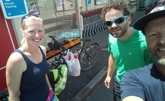 Call me crazy but this young Dutch couple have done over 4,000 kms on the Trail on fixed frame bikes!