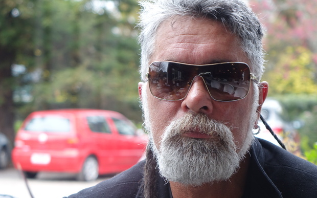 Black Power member Kevin Moore says he has a right to live at the Rohotu Block in Waitara.