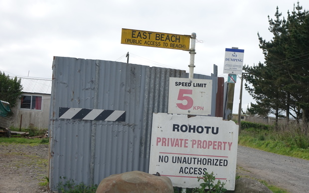 The Rohotu Block Trust manages about eight hectares of Maori freehold land at East Beach, Waitara