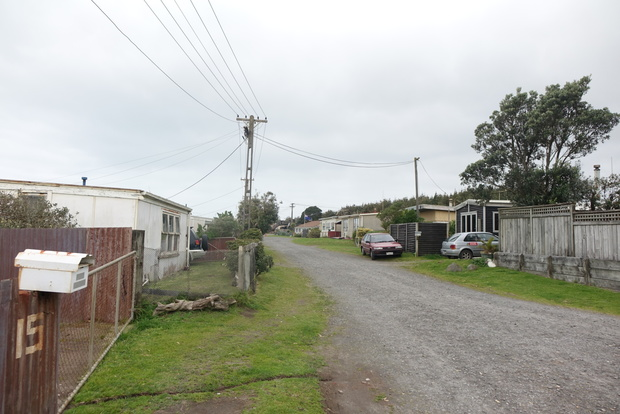 There are about 30 homes in the Rohotu Block at Waitara's East Beach.