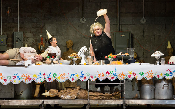 Hansel and Gretel and the Witch at the Metropolitan Opera