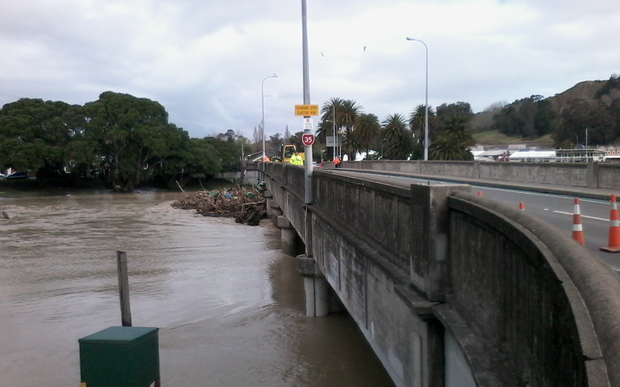 Heavy flooding in Gisborne