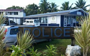 Police headquarters on Niue