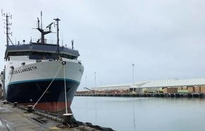 The US vessel, Marcus Langseth is currently in Napier Port after a five week study of the Hikurangi Plate.