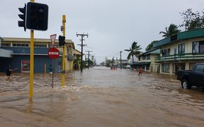 Flooding in Apia
