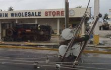 Damage on Saipan in CNMI from Typhoon Soudelor