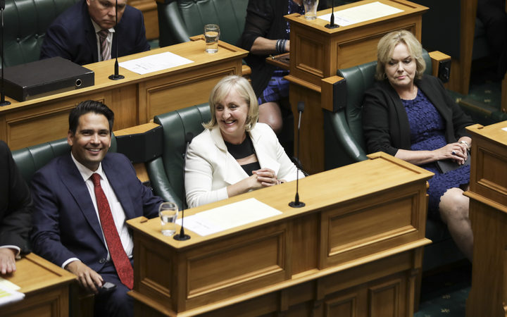 National MPs Simon Bridges, Amy Adams and Judith Collins