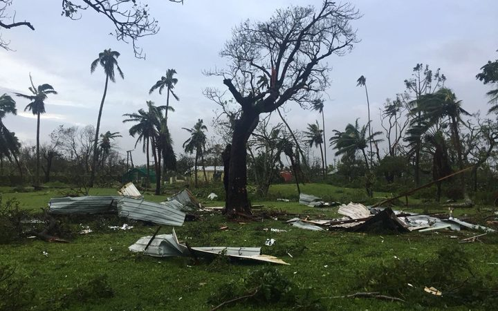 Cook Islands pledges support after Cyclone Gita