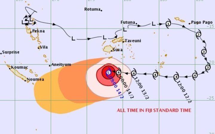 Cyclone Gita: New Caledonia starts preparations