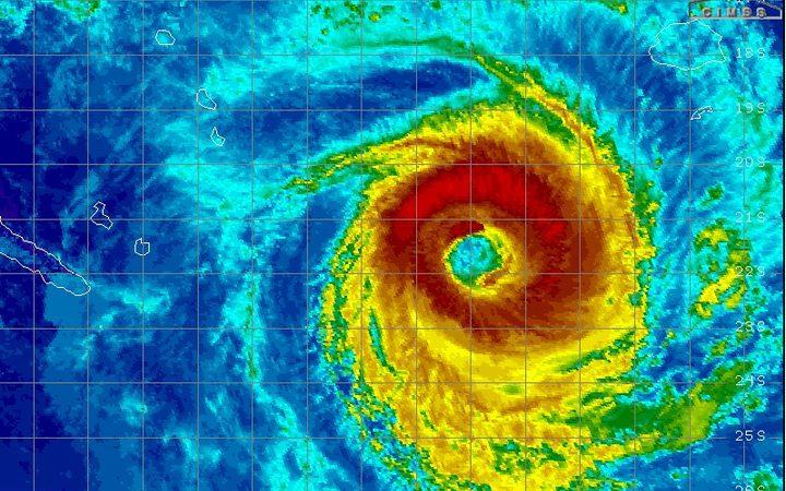 New Caledonia prepares for Cyclone Gita