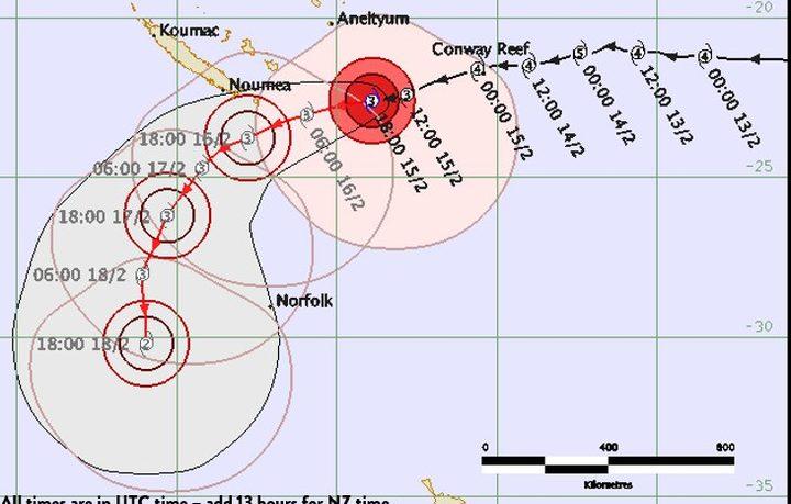 Noumea airport to close as Cyclone Gita approaches New Caledonia