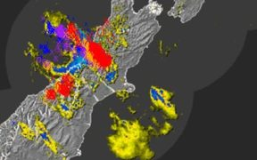 The West Coast has been hit by around 1500 lightning strikes this morning.