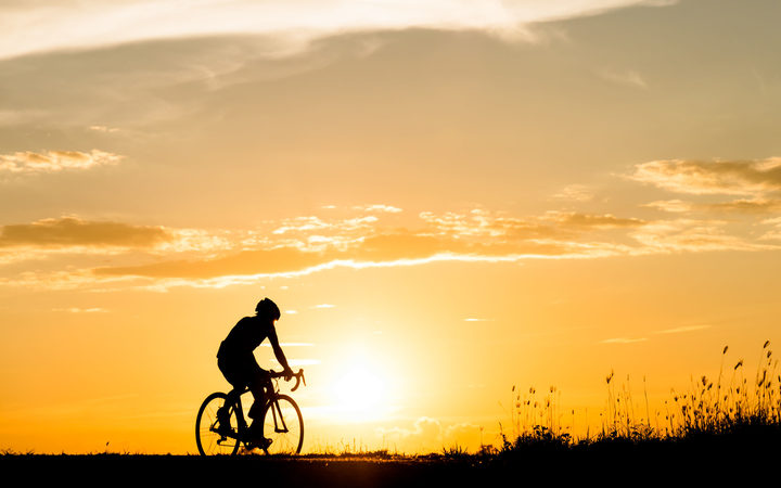 Touring cyclists who ride at night are said to be endangering people.
