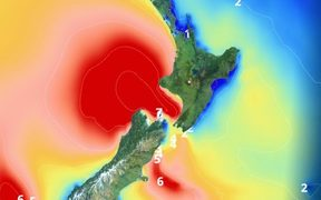 Gita will bring significant swells to many central and western areas, as well as the east coast of the South Island.