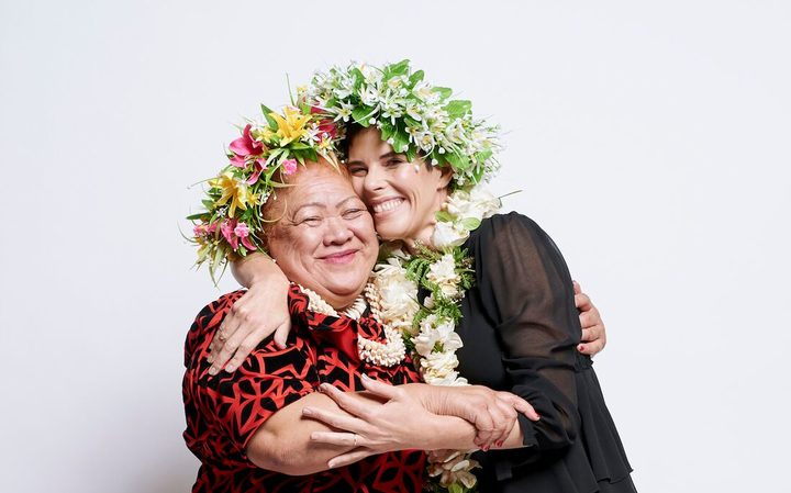 Karen Walker and Māmā Tukua Turia