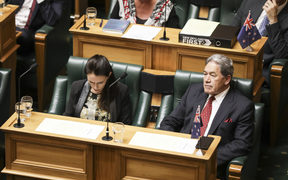Prime Minister Jacinda Ardern and Deputy Prime Minister Winston Peters