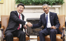 Barack Obama and Xi Jinping