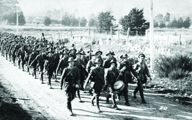 Between 1915 and 1918, about 60,000 soldiers marched over the Rimutaka Hill - before setting sail for the Western Front in the First World War (WW1).