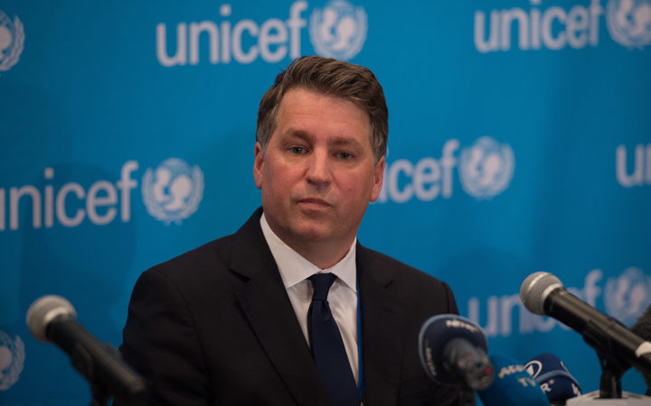 UNICEF chief resigns amid claims of inappropriate behaviour