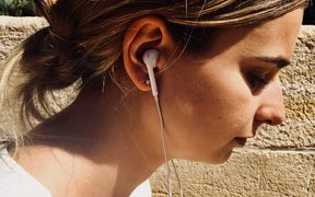 Caroline Brown worries what regular use of earbuds could be doing to her hearing