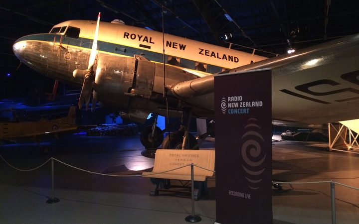 RNZ Concert moves into the Air Force Museum of New Zealand, Wigram, for a live broadcast of the Christchurch Symphony Orchestra