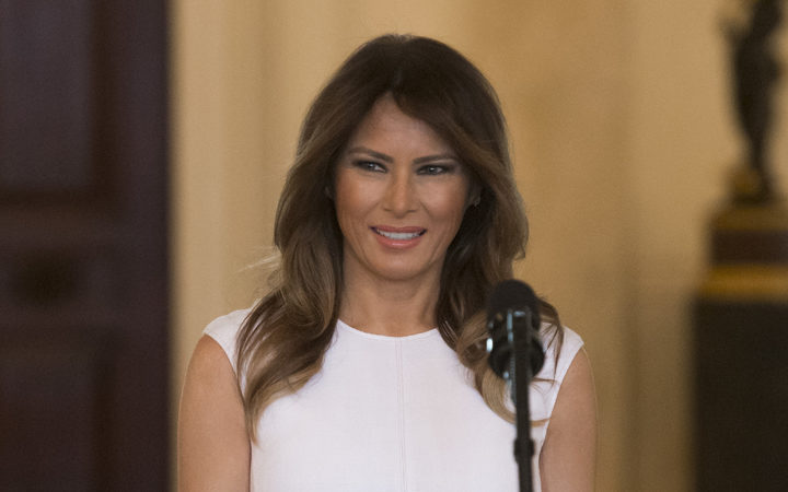 US First Lady Melania Trump.