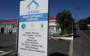 The ceremony to open Te Kāika community health centre in South Dunedin drew about 150 people.