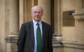 Sir Charles Godfray, director of the Oxford Martin School at Oxford University in the UK, a world-leading centre of research into addressing global challenges.