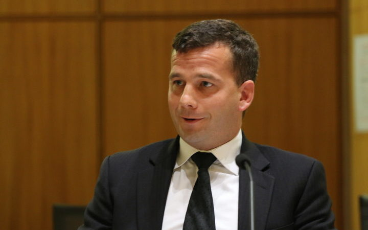 The euthanasia bill's sponsor, David Seymour.