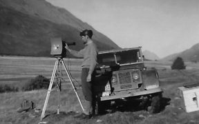 Technology geodetic and mapping surveying Hunter Valley Otago 1962