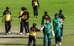 Ireland defeated PNG by 4 wickets despite a Tony Ura 151