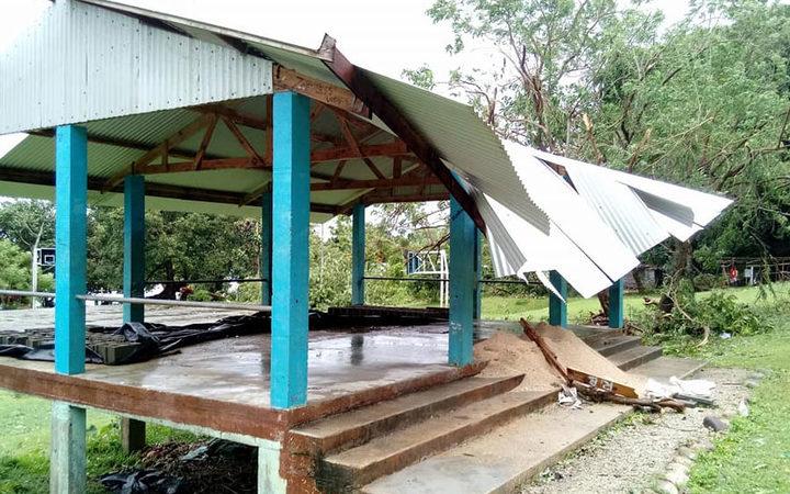 Cyclone Hola builds making landfall in Vanuatu