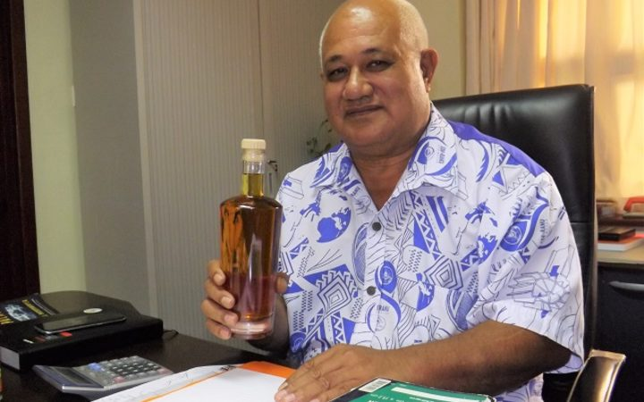 Samoa's Minister of the Scientific Research Organisation of Samoa, Lopao'o Natanielu Mu'a