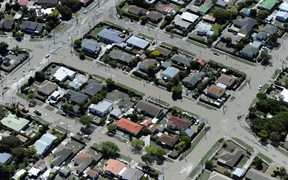 The Christchurch suburb of Bexley is flooded with silt and water forced up through the weakened ground by liquefaction following the February 22 earthquake.